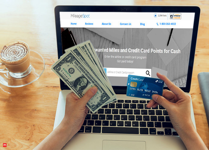 Earn and sell Credit Card Points for Cash
